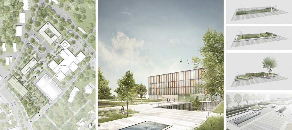 site plan and visualizations | rendering © ATP Innsbruck Planungs GmbH